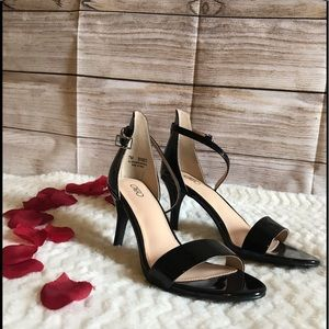 Cato black ankle shoes size 7